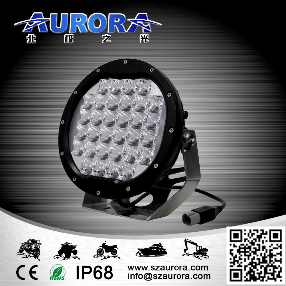 AURORA high quality auto 4x4 7'' round accessories for motorcycles