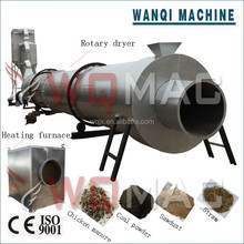 New design for the coal /sawdust /silica sand/ horizontal rotary air dryer with factory price