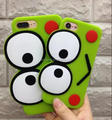 3D frog silicone case back cover for iPhone 7 7 Plus, Cute frog case for iPhone 6 6 Plus