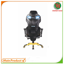 High Tech Modern design Office Furniture Adjustable office swivel ergonomic gaming chair Speaker HY-5852