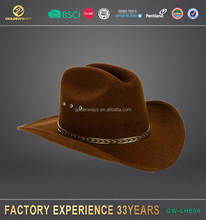 Wholesale fashion hot selling cowboy hat made in China