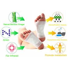 Popular personal care products 50pcs/Box Kinoki Detox Foot Patch Pads Body Toxins Adhesive Keeping Fit K02401 detox foot patch