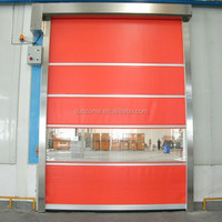 stainless steel gate security pvc shutter door