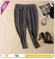 New arrival style alibaba express elastic waist Fashion pleated girl pants