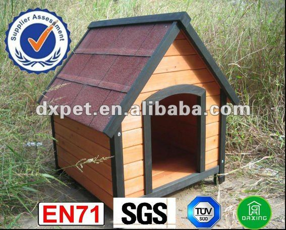 plywood dog house DXDH011