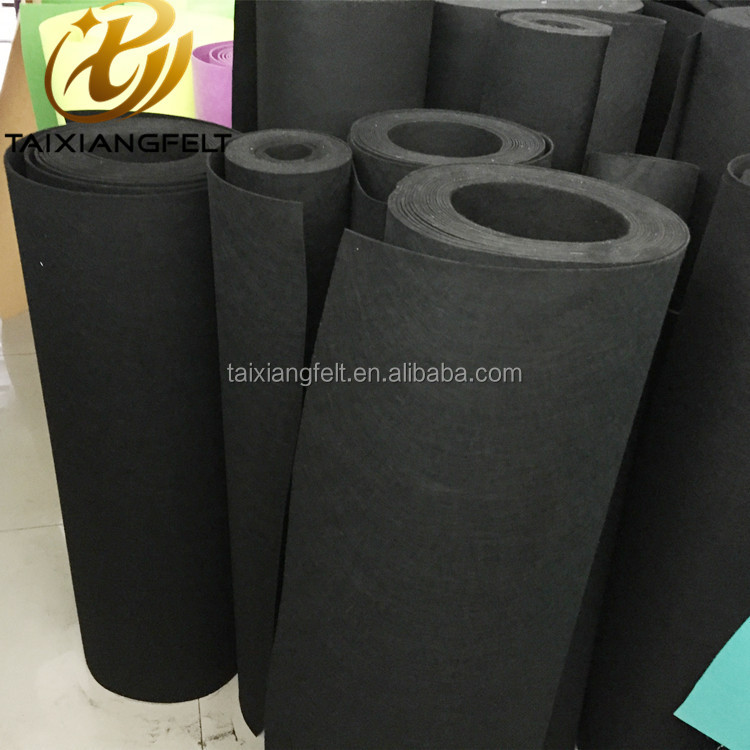 customized thickness 100% Wool felt fabric