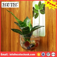 House flower pot for cemetery cylinder fish tank