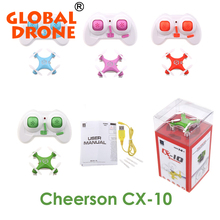 Cheerson cx-10 cx10 mini 2.4ghz 4ch rc remote control quadcopter helicopter drone cx 10 led toys Headless mode 3D Flips