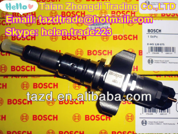 BOSCH Original Common Rail Injecor 0445120075 for IVECO/NEW HOLLAND /CASE NEW HOLLAND