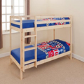 natural pine wood cheap bunk bed frame
