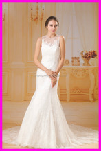 two sets lady's dress separate lace part wedding gown