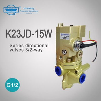 k23jd-15w 3/2-ways cost-effective stable performance magnetic valves