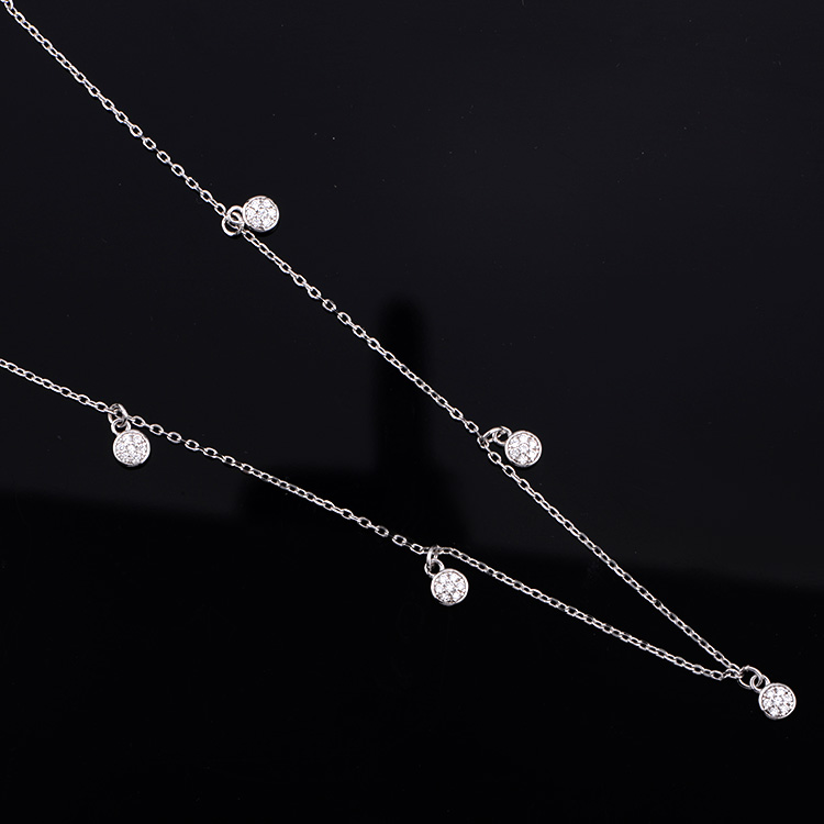 Factory price newest fashionable new design gold rosary necklace