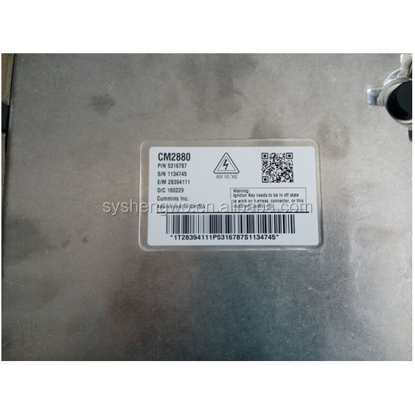ISDe diesel engines ECM Electronic Control Module 5316787