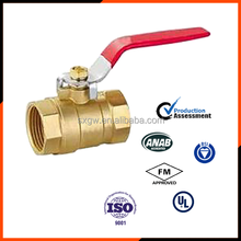 Hot sell full port brass ball valve with female thread made in China