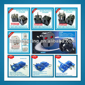CE Certificate Plug Adapter Electrical Plug