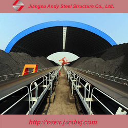 High Rise Steel Framing Coal Storage Thermal Power Plant