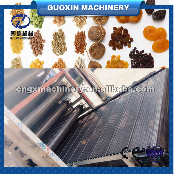 2014 Stainless Steel Conveyor Mesh Belt Type Hot Air Dryer for fruit and vegetable