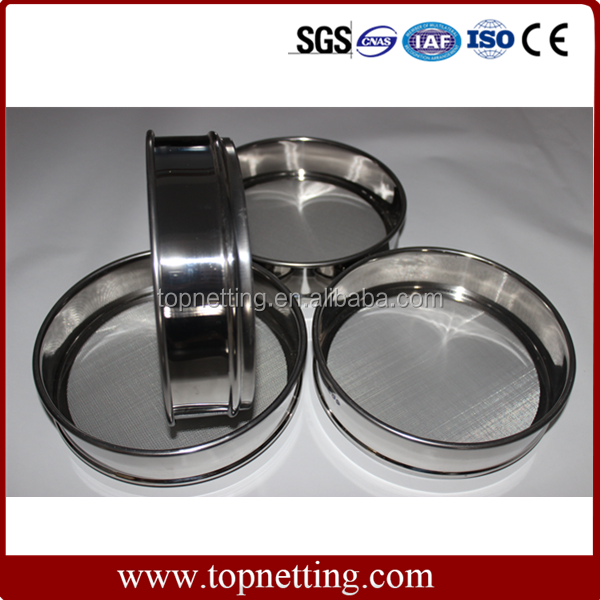 Stainless steel or brass laboratory standard test sieve Manufacturer in China