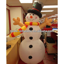 Lovely inflatable snowman,inflatable outdoor christmas decoration