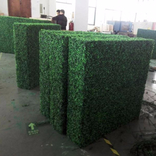 artificial boxwood hedge Plant Type and PU,plastic,PE,Plastic Material plastic hedge fence