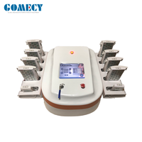 Beauty equipment 2019 dual wavelength lipo laser 650 nm 940nm 780nm portable lipolaser triple wave laser