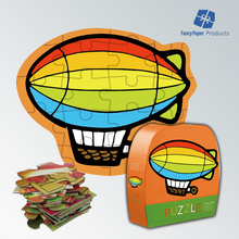 Airship Boy Love Cute Environmental Protection Paper Puzzle Toy