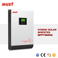 on grid and off grid combined 5000 watt inverter with inbuilt 80A MPPT controller