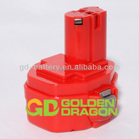 Power Tools Battery for Makita 14.4V tools, makita battery 1422, NI-MH/NI-CD, 1.3AH~3.3Ah