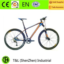 2016 newest MTB mountain bike 27.5 light weight bicycle bicicletas