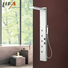 split square shower panel body jets economical packing CF8322 140*20