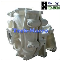 Heavy Duty Centrifugal Slurry Pump Used For Flushing Steel Mill Blast Furnace Cinder