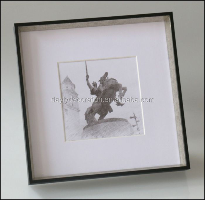 wall hanging little bigger than 8x8 shadow box frame square cheap shadow box wholesale