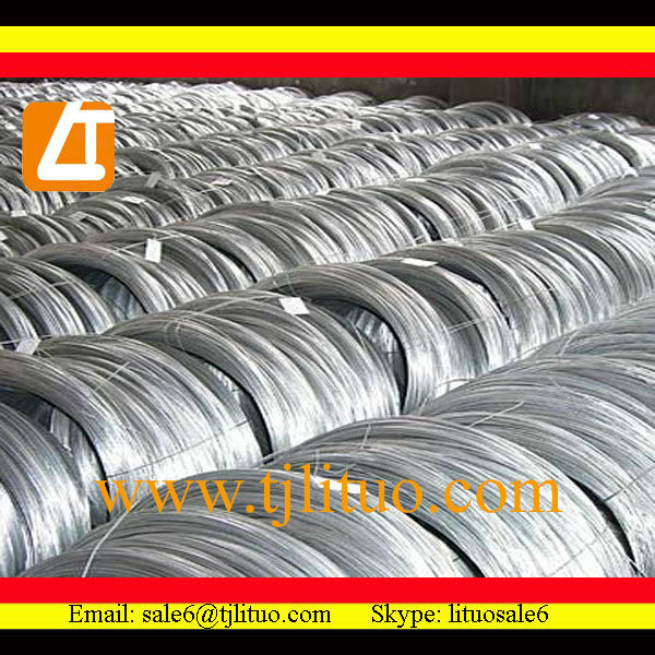 Hot sale! zinc coated galvanized iron wire