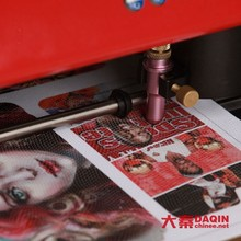 mobile phone skin sticker printing machine /phone skin cutting machine/ phone skin