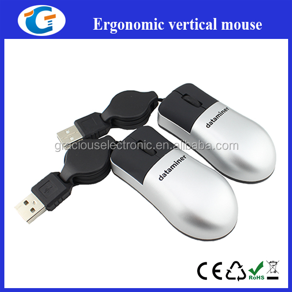 Super mini retractable computer optical mouse for laptop