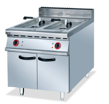 Commercial 20L Double Tank Deep Fryer For Chicken