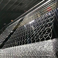 Anping manufacturer galvanized hexagonal gabion basket for roadway protection