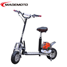 CE approved 4 stroke big wheel gas scooter for adults