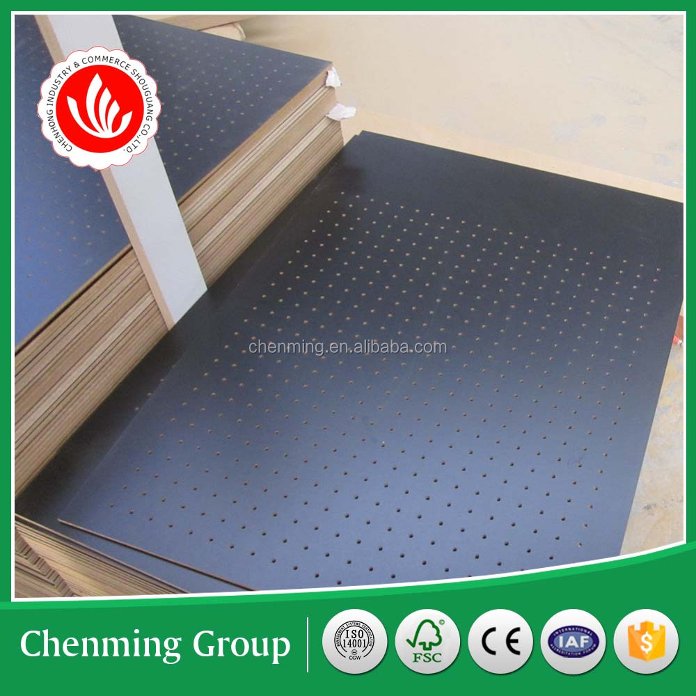 MDF hole board/Pegboard/perforated board