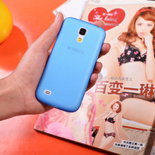 Ultra Thin Slim Half Transparent Matte PP Case Cover for Samsung Galaxy S4 Mini