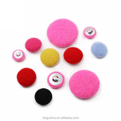 30mm Custom Easy Button for Clothing, Garment Button Types, Cover Buttons