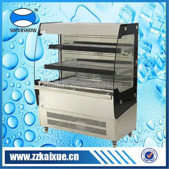 exquisite stainless steel fridge for fruit and dairy