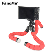 KingMa New products Portable Stand Medium-sized Flexible Sponge Octopus Tripod for GoPro Camera <strong>Mobile</strong> <strong>Phone</strong> for Smartphone