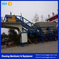 Movable (YHZS25) 33 Cubic Yard Per Hour Mobile Concrete Batching Plant