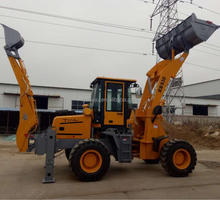 Construction Machinery high loaded backhoe loader WZ15-30