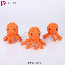 Personalized octopus shape cat toys wholesale pet dog toys and pets supply