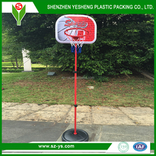 professional in ground adjustable plastic basketball hoop for kids