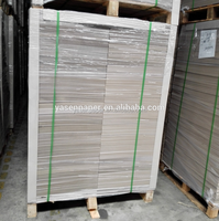 SGS laminated grey chipboard with one side coated board