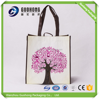 Woven,80gsm pp woven fabric, 70-150gsm is available Material and Handled Style vietnam pp woven shopping bags
